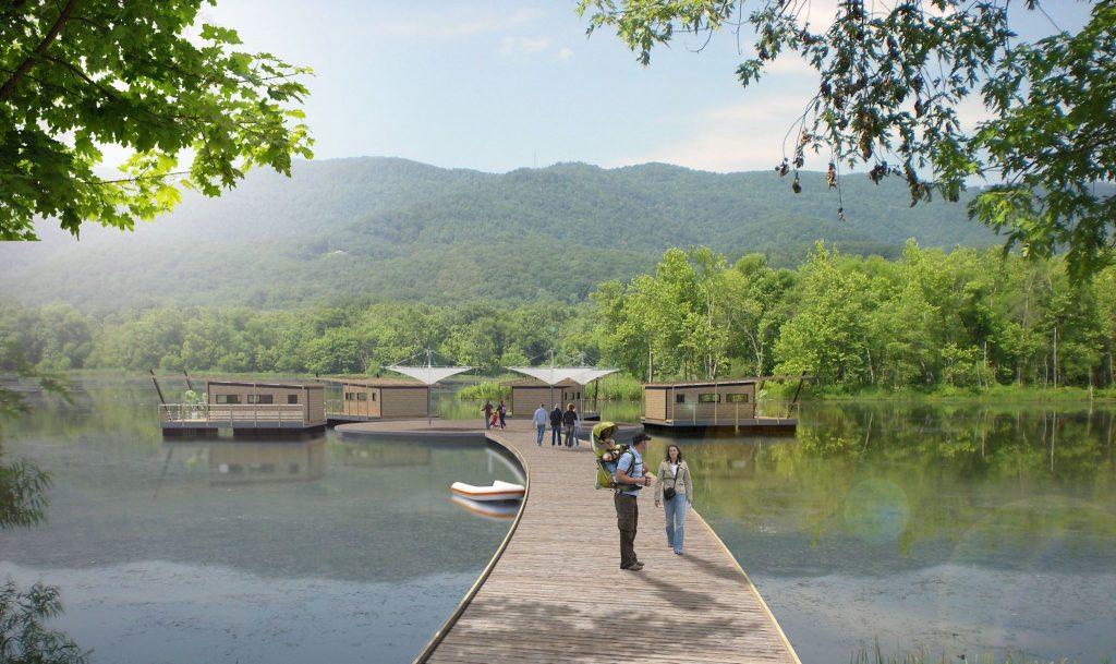 La maison flottante, un mode d'habitat écologique
